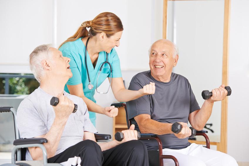 Sporttherapie für Menschen mit Behinderung
